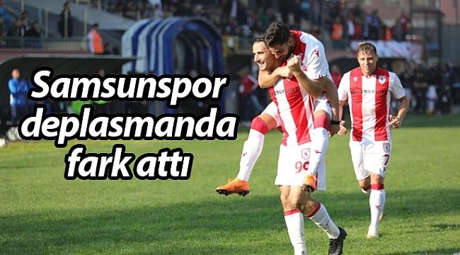 Samsunspor şampiyonluk aşkına: 0-5