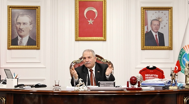 """Başkan Demirtaş: """"Geri dönüşüme özel önem veriyoruz"""""""