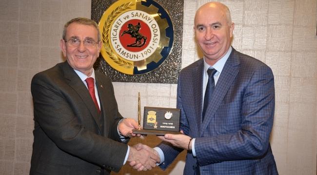 Başkan Murzioğlu ve BaşkanDiecenko'dan dostluk mesajı