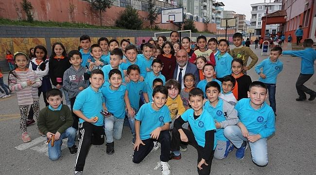 Canik'te 'Başkan Okulumda' projesi devam ediyor
