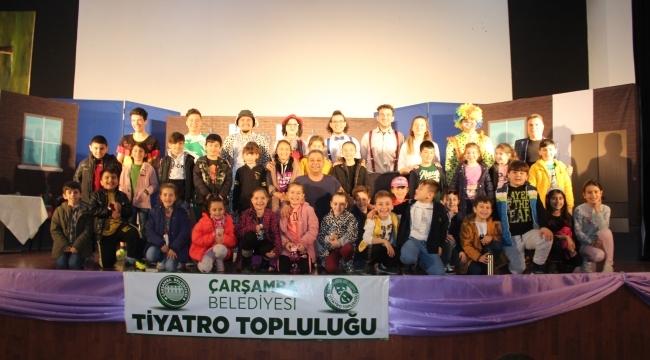Çarşamba Belediyesi Tiyatro Topluluğu'dan ilk gösterisi