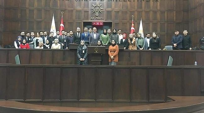 Milletvekili Köktaş, ÜniAK üyelerini ağırladı