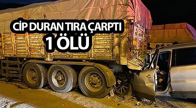 Samsun Haber - Samsun'da feci kaza 1 ölü
