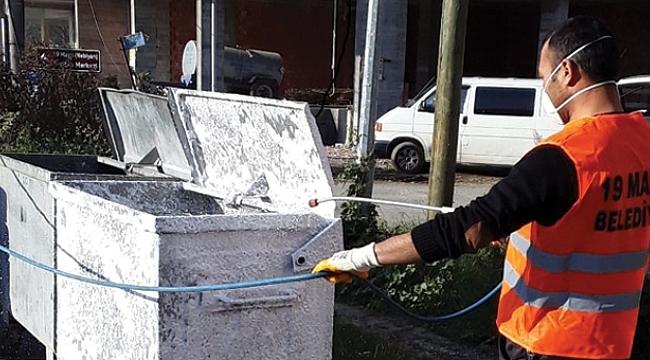 Samsun Haber - 19 Mayıs Belediyesi halk sağlığı için çalışıyor