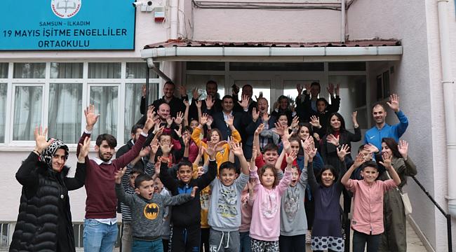 Samsun Haber - AK Parti İlkadım'da engellileri unutmadı