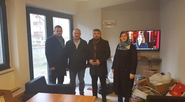 Samsun Haber - AK Parti Samsun'dan vefa ziyaretleri