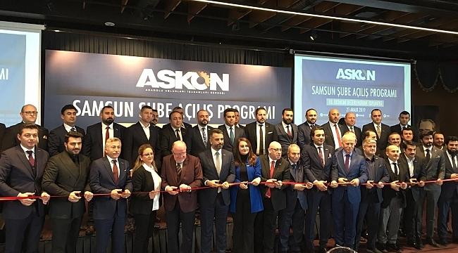 Samsun Haber - ASKON Samsun Şubesi açıldı