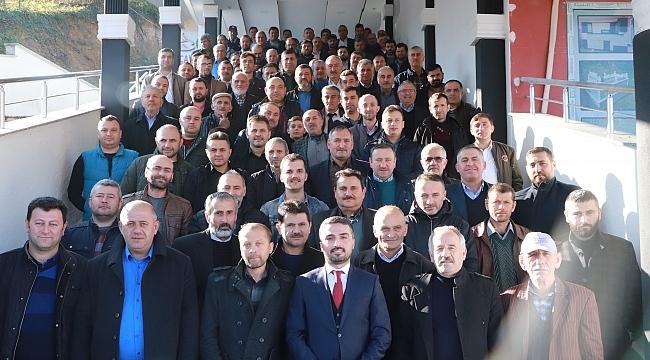 Samsun Haber - Başkan Kalaycı: Ayvacık, esnaflarıyla yükselecek