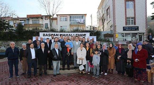 Samsun  Haber - Başkan Sandıkçı: Hedeflere ilerliyoruz