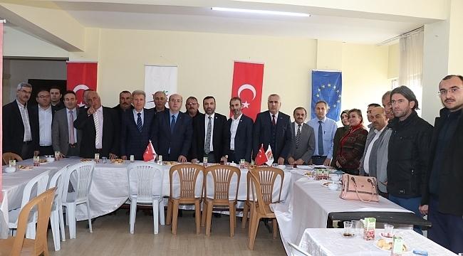 Samsun Haber - Başkan Sarıcaoğlu: Kavak için öncü güç olacağız