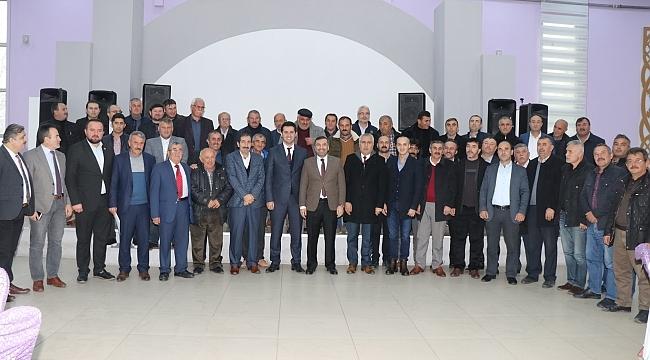 Samsun Haber - Başkan Sarıcaoğlu muhtarları uyardı