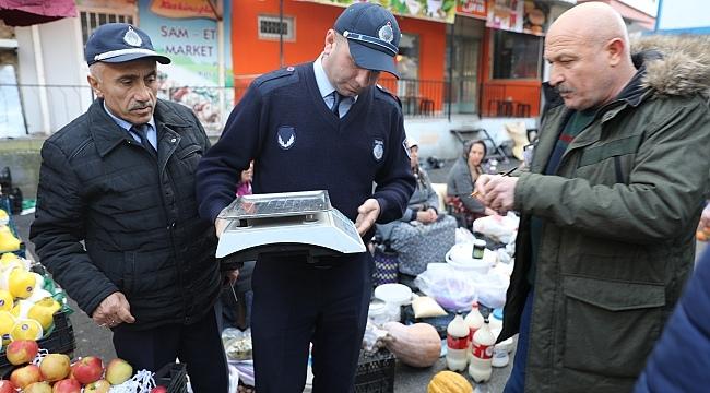 Samsun Haber - İlkadım'da halk pazarlarına sıkı denetim