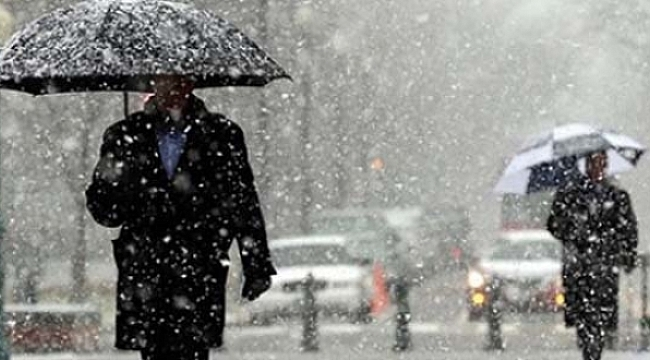 Samsun Haber - Meteorolojiden sağanak yağış ve kar uyarısı