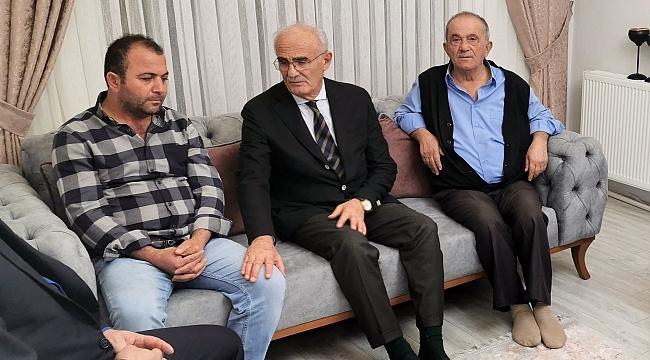 Samsun Haber - Milletvekili Yılmaz, acıyı paylaştı