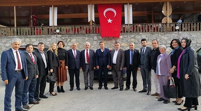 Samsun Haber - Muhtarlar Mustafa Öztürk ile devam dedi