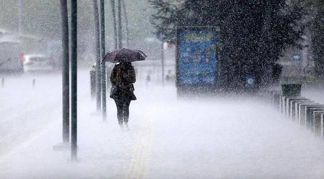 Samsun Haber - Samsun'a yağmur ve fırtına geliyor