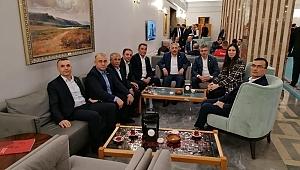 Samsunlu memurlar AK Parti'li vekillerle görüştü