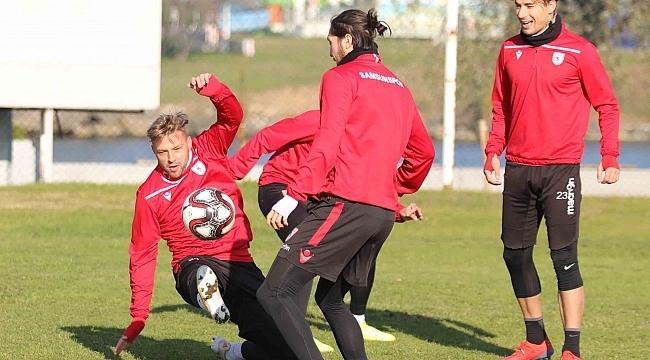Samsunspor Çorumspor maçına hazır