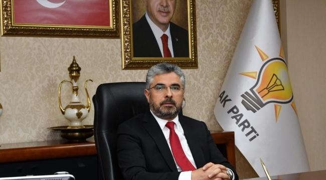 Başkan Aksu'dan taziye mesajı
