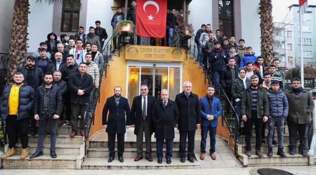 Başkan Demirtaş: Öğrencilerimizle projelere imza atacağız