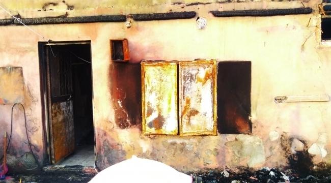 İlkadım Belediyesi'nden evi yanan aileye destek