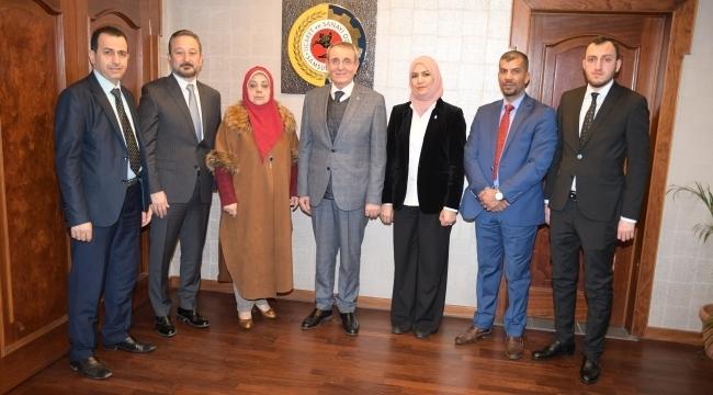 Iraklı kadın Milletvekilleri, işbirliği için Samsun'da