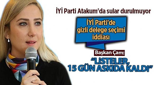 İYİ Parti Atakum'da gizli delege seçimi iddiası