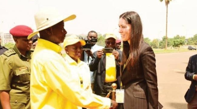 Karaaslan Uganda Cumhurbaşkanı ile görüştü