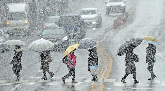 Samsun'a kar ve yağmur geliyor