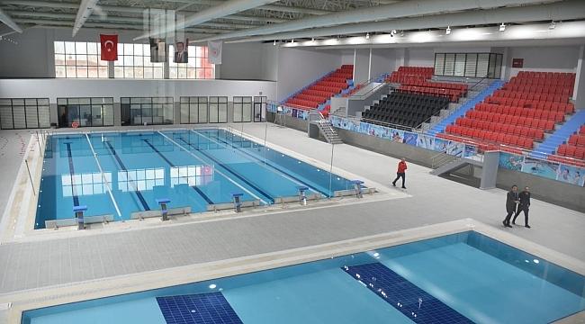 Samsun'da yarı olimpik yüzme havuzu açılıyor