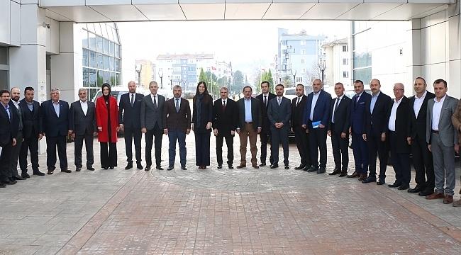 Samsun Haber - AK Parti hizmet seferberliğine devam ediyor