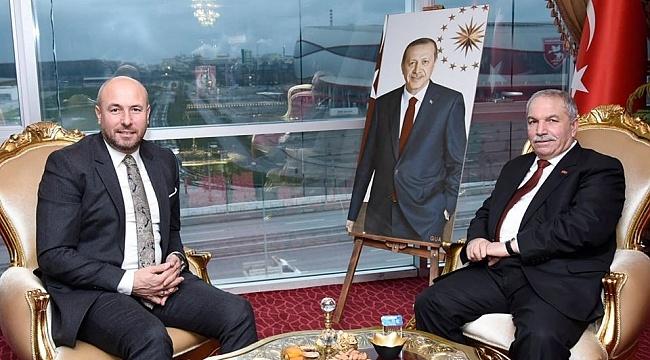 Samsun Haber - Demirtaş'tan Togar'a ziyaret