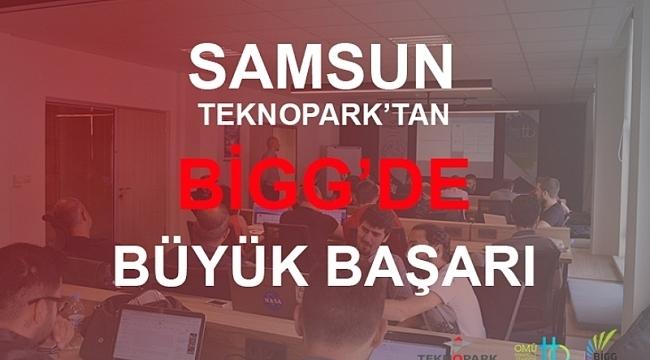 Samsun Haber - Samsun Teknopark'tan BİGG'de büyük başarı