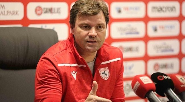 Samsun Haber - Teknik Direktör Sağlam yeni transferleri açıkladı