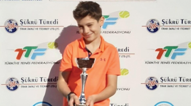 Samsunlu genç tenisçiden büyük gurur