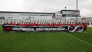 Samsunspor'dan pankartlı anma