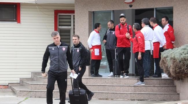 Samsunspor galibiyet için yola çıktı