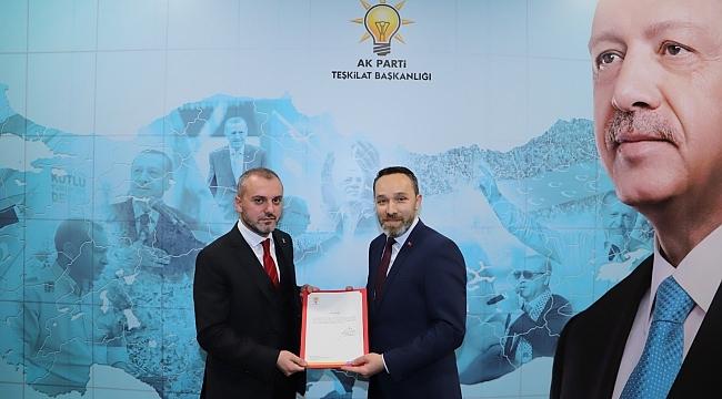 Abdulkadir Köstek AK Parti Atakum İlçe Başkanı oldu