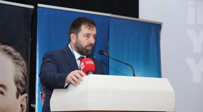 AK Parti Canik'te Mahmut Gençay yeniden başkan seçildi