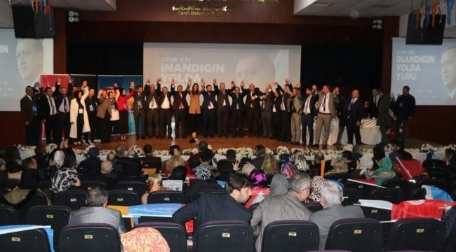 AK Parti'de ilçe kongreleri Canik'ten başladı
