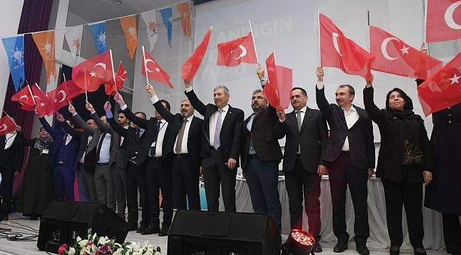 AK Parti Havza'da coşkulu kongre