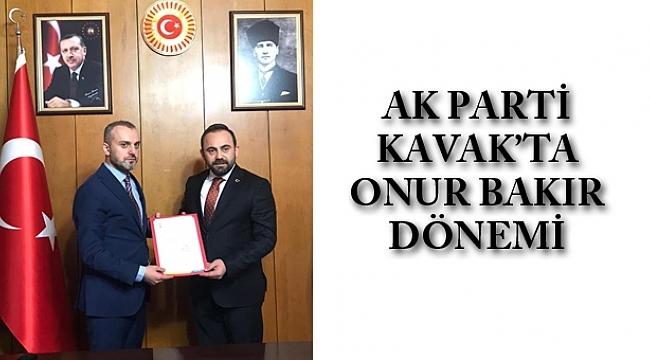 AK Parti Kavak'ta Onur Bakır dönemi