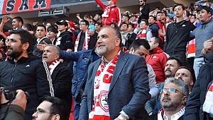 Başkan Sandıkçı'dan Samsunspor'a seyirci desteği