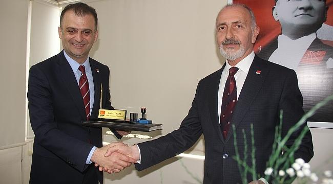 CHP Samsun'da görev değişimi