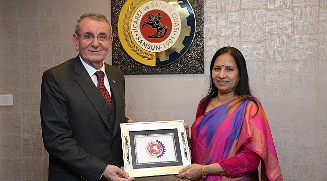 Hindistan Mashalatgüzarı, işbirliği için Samsun'da