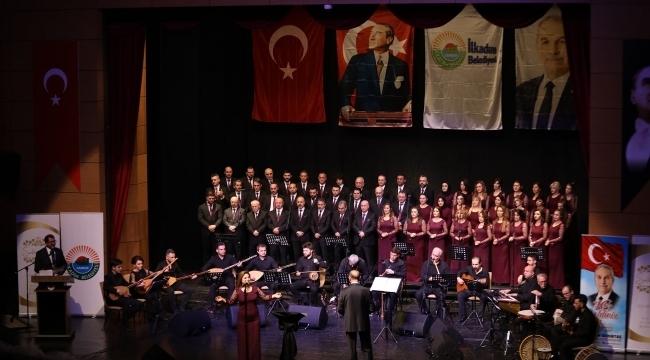İlkadım'da Türk halk müziği şöleni