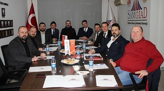 KARGİF'TEN SAMGİAD'A ZİYARET