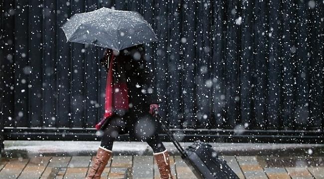 Meteoroloji'den yağış ve kar uyarısı