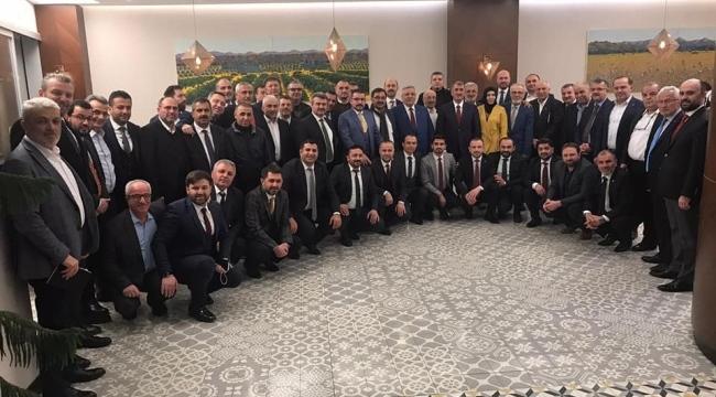 Milletvekili Köktaş ilçe başkanlarıyla buluştu