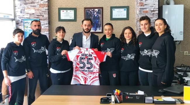 Olympian Akademi Spor Kulübü'nden Multimedya Atölyesi'ne ziyaret